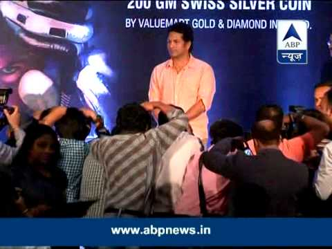 Sachin Tendulkar launches coin with his name