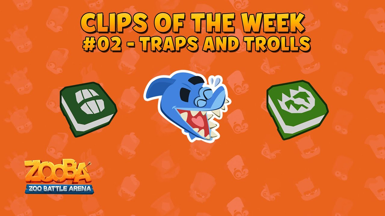 Zooba Clips of the week #02 - Top Traps and Trolls