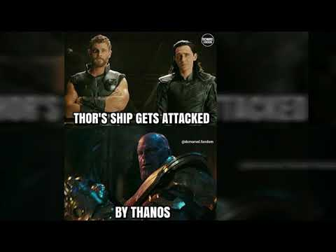 AVENGERS INFINITY WAR STORY LINE BASED ON TRAILER