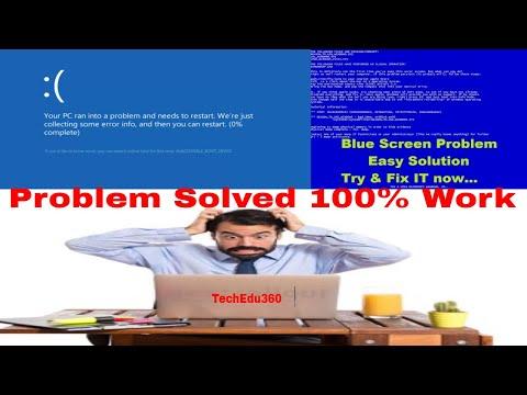 How To Fix Blue Screen Error/blue Screen Management Error