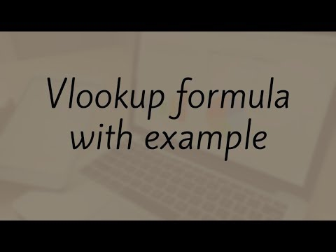 Vlookup Example Between Two Sheets | Vlookup Formula