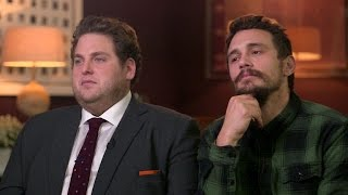 "Gambar cover James Franco and Jonah Hill talk new film ""True Story"""