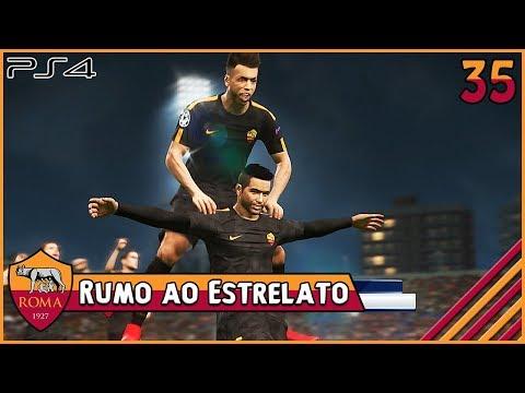RUMO AO ESTRELATO 35 - O PRIMEIRO GOL DE BRUNELLI NA CHAMPIONS PES 2018