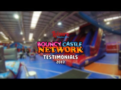 Bouncy Castle Network Testimonials - Leisure Supply Show 2017