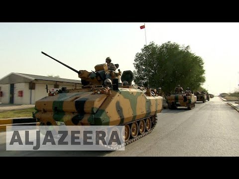 Qatar welcomes Turkish troops; wraps up war game with US