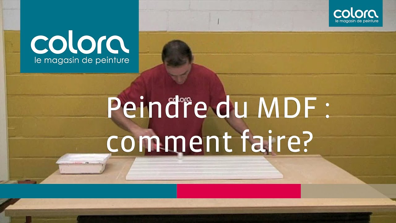 peindre du mdf comment faire youtube