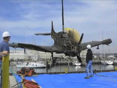 Lake Michigan - Douglas SBD Dauntless recovered