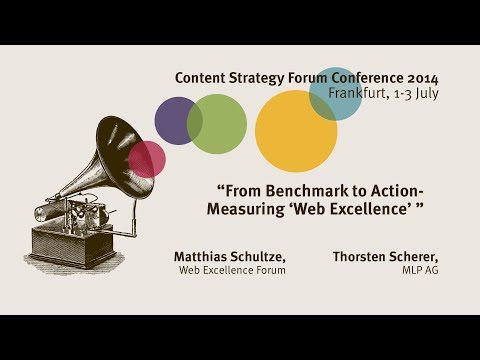 Matthias Schultze & Thorsten Scherer: From benchmark to action - Content Strategy Forum 2014