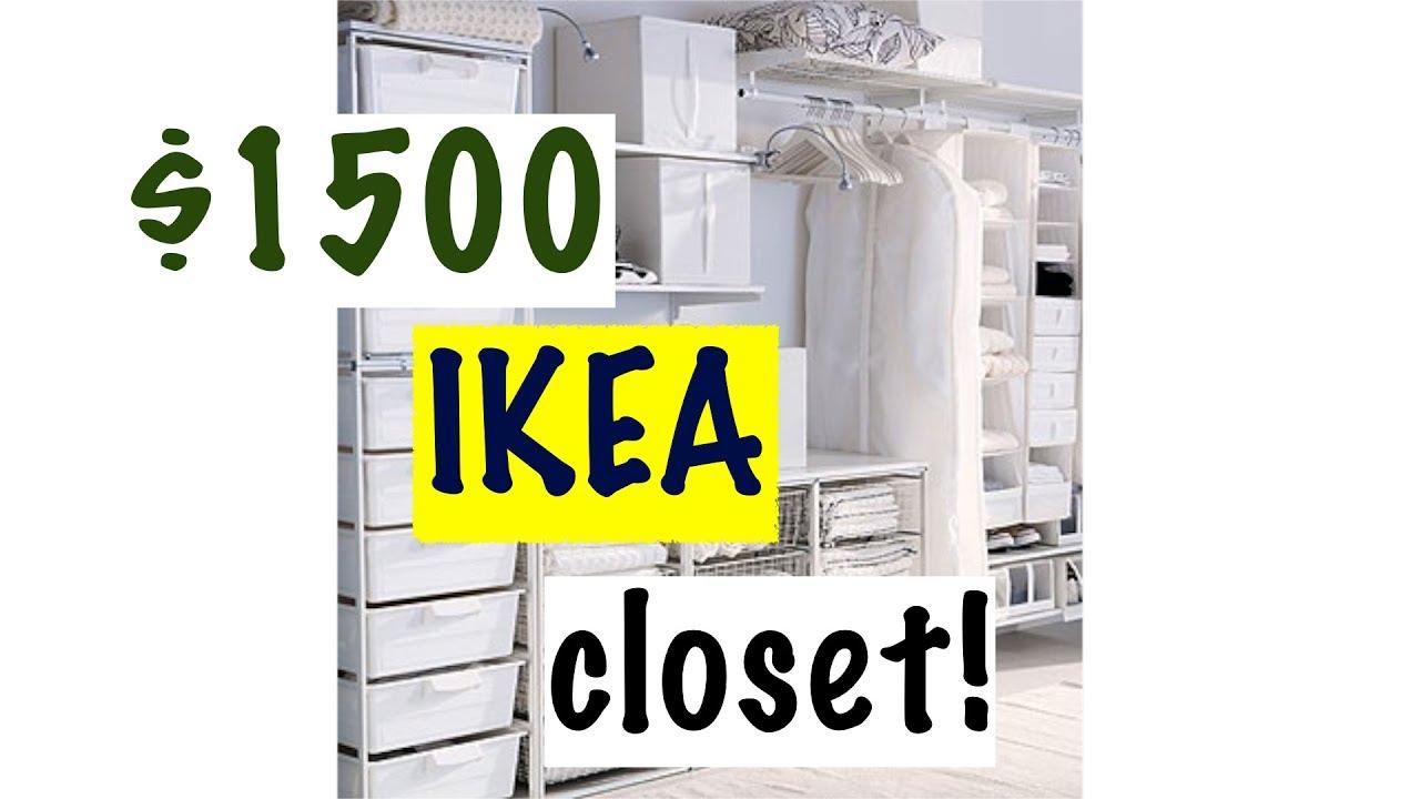 1500 Ikea Closet Diy California Hack
