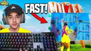 Fastest PC Editor Teaches You How To Edit Fast in Fortnite: Battle Royale!