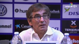 Rueda de prensa de Fernando Vázquez CD Tenerife vs RCD Mallorca (0-0)