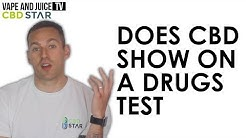 Does CBD Show Up On A Drug Test? Is it Legal?   Advice