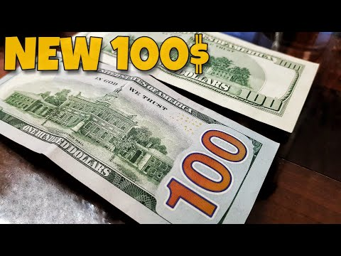 New 100$ Note | USA One Hundred-dollar Bill Comparison