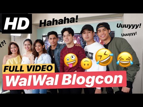 [FULL] Super KULIT! WALWAL Blogcon with Kisses, Sophia, Devon, Kiko, Elmo, Donny, and Jerome