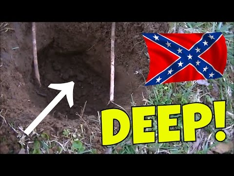 Thumbnail: DEEP TREASURE FOUND @ Civil War Camp! Metal Detecting OLD Relics & Silver Coins!