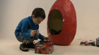 Дисней Тачки Огромное яйцо игрушки