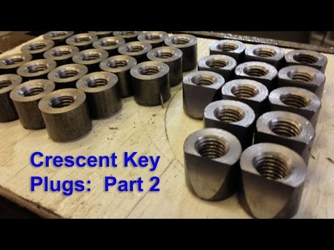 Crescent Key Plugs Part 2: Fabricating a Milling Fixture for the Horizontal Mill