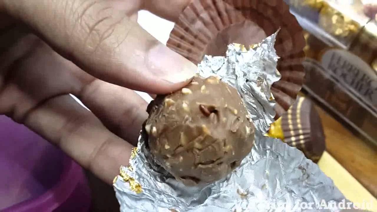 Ferrero Rocher chocolate in Bangladesh - YouTube