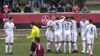 1.FC Nürnberg II - TSV Buchbach (Regionalliga Bayern 15/16, 24. Spieltag)
