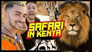 IL NOSTRO SAFARI IN KENYA 🦁 Gli animali della Savana   Kenya VLOG #2 - Matt & Bise