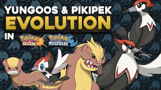 PIKIPEK AND YUNGOOS EVOLUTION CONCEPT DESIGNS! | Pokemon Sun and Moon Evolutions!