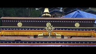 Rumtek Monastery in Gangtok, Eastern Himalayan range, at Sikkim