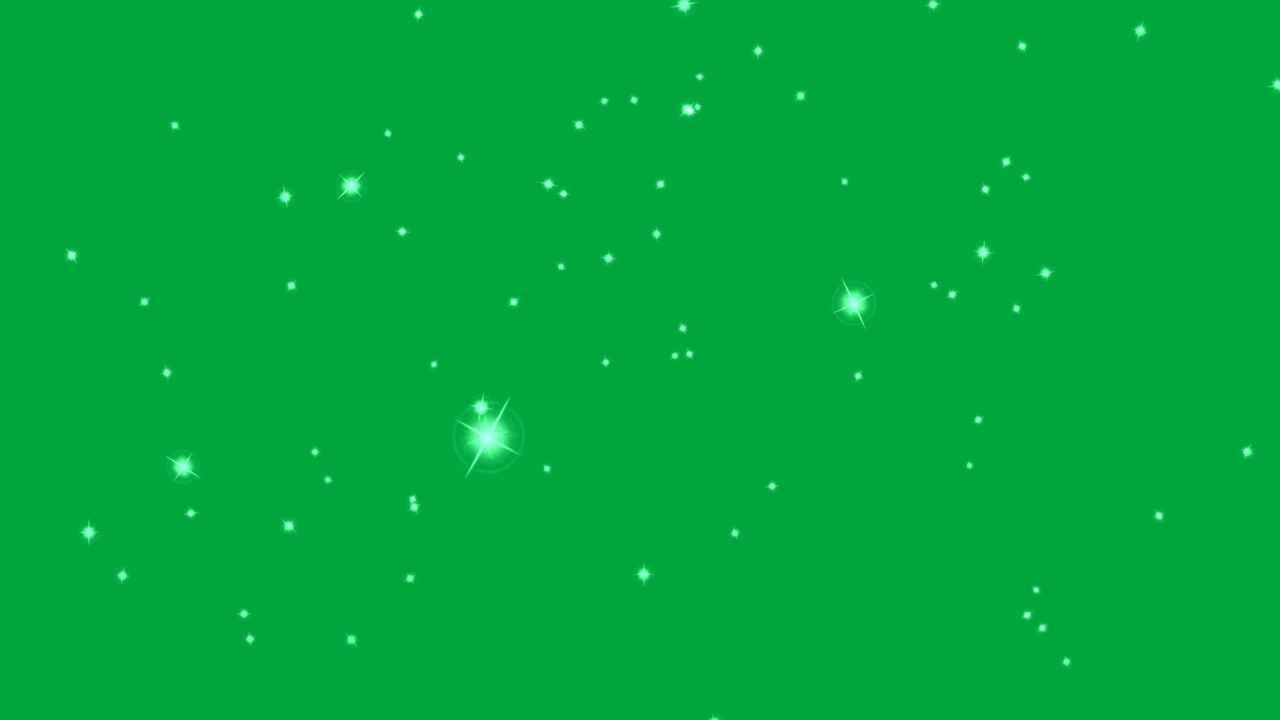 Falling Glitter Confetti Wallpapers Flying Star Lights Green Screen Effect Youtube