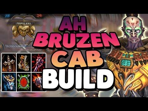 Smite: Ah Muzen Cab Bruiser Build - AH BRUZEN CAB IS ALIVE BABY!
