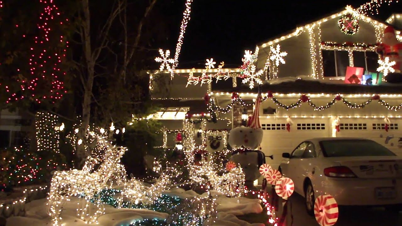 spectacular hd christmas lights and displays youtube - Christmas Lights In Santa Clarita