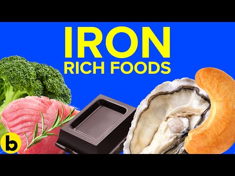 9 Foods That Are Rich In Iron