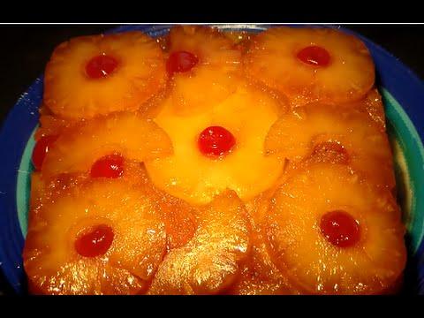 Moist Pineapple Upside Down Cake From Scratch Recipe