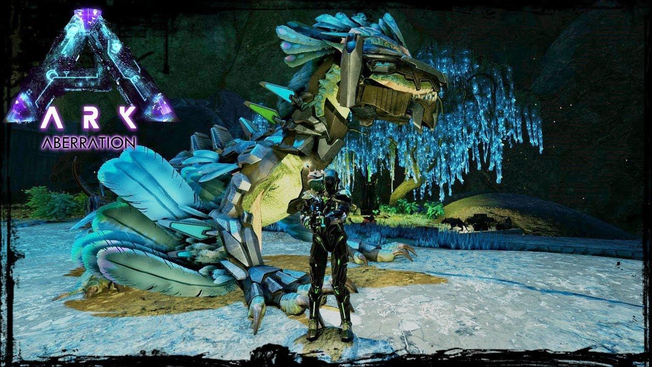 Ark Aberration - Ep  13 - Tek Armor and Tek Rock Drake Saddle!