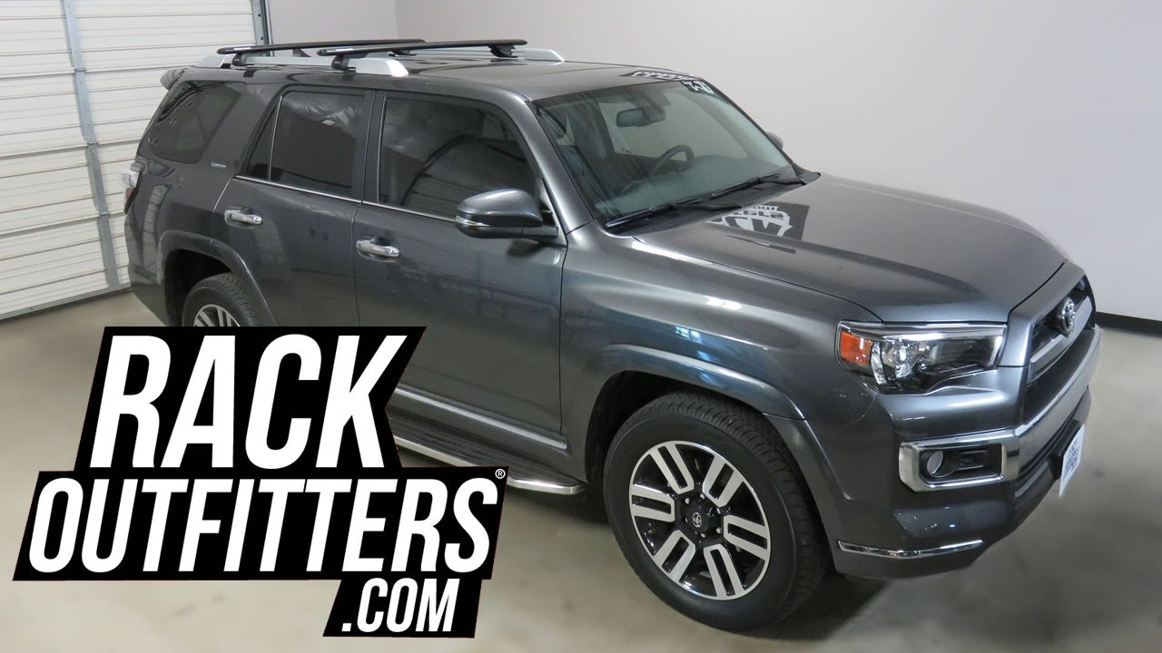 2017 Toyota 4 Runner With Rhino Rack Vortex Sx Roof Crossbars