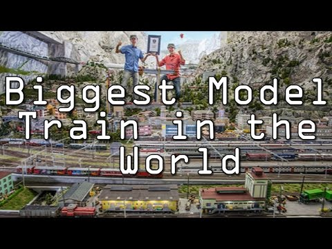 LARGEST MODEL TRAIN IN THE WORLD - World's BIGGEST MODEL AIR
