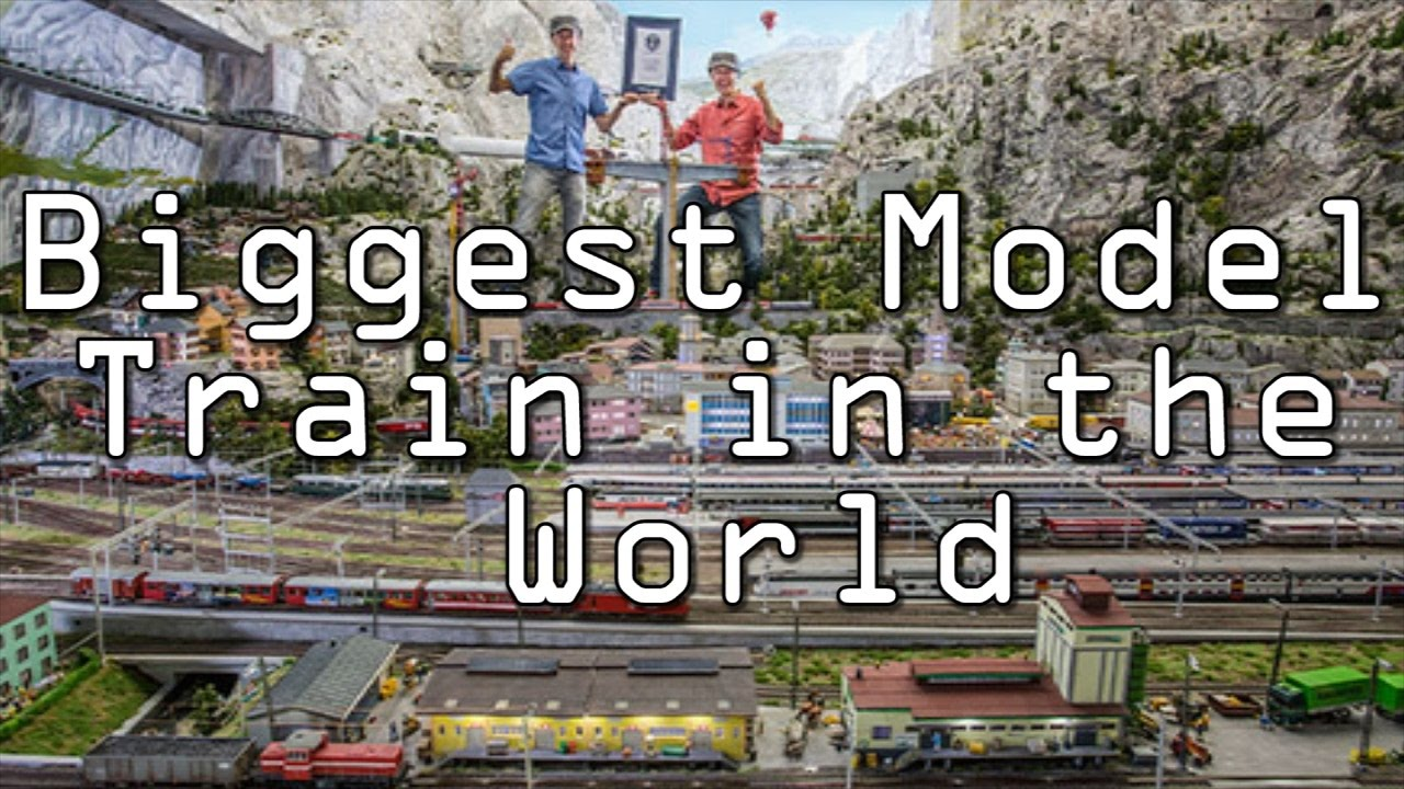 Largest Model Train In The World World S Biggest Model