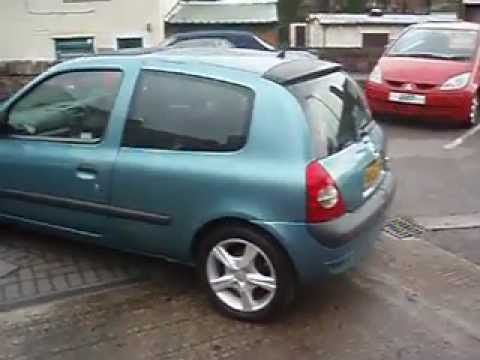 renault clio 1 2 16v extreme 2002 youtube. Black Bedroom Furniture Sets. Home Design Ideas