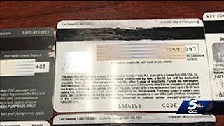 String of stolen credit cards in Edmond