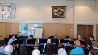 Salt Creek Chamber Orchestra clarinet octet.