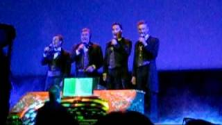 "Dapper Dans sing ""Grim Grinning Ghosts"""