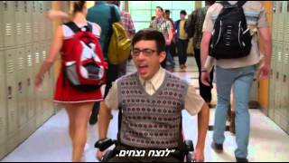 Glee - Whenever I Call You Friend (HEBsub מתורגם)