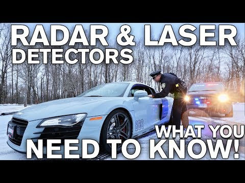 Radar & Laser Detectors: WHAT YOU NEED TO KNOW!