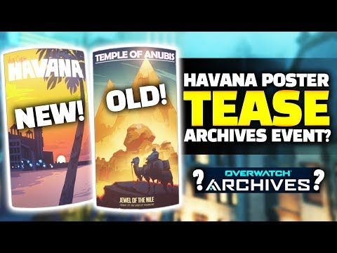 Overwatch - New Havana Poster - Possible Archives Event Teaser? thumbnail