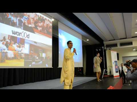 LIVE ON STAGE FOR ARAB PEOPLE