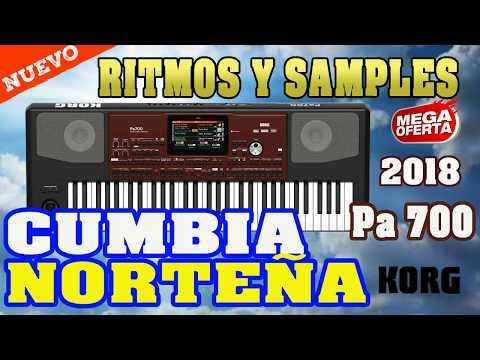 CUMBIA NORTEÑA RITMOS PARA KORG PA600 PA700 PA1000