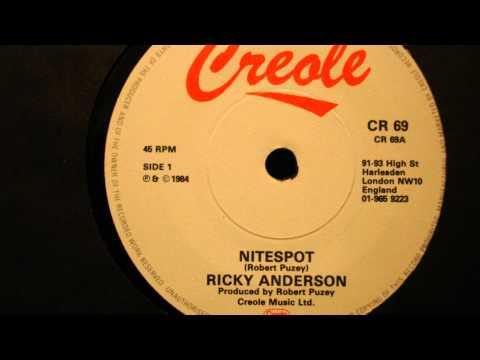 RICKY ANDERSON-NITESPOT