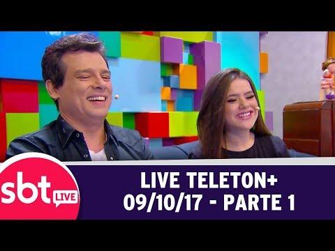 SBT Live Com Teleton+ (09/10/17) | Parte 1