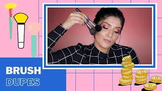 Makeup Brush Dupes In India | Good Quality & Affordable | Shreya Jain