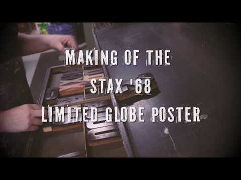 Making Of The Stax '68 Limited Globe Poster