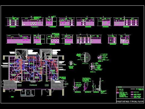 Conduit Drawing Autocad House