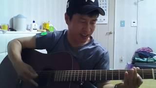 돌아가는 삼각지(기타연주) - 배호